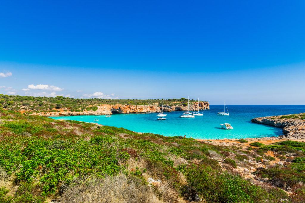 Las mejores playas en el sudeste de Mallorca cerca de nuestro restaurante en Portopetro